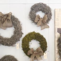 Moss Wreath $25 - 45