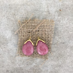 Stone Earrings $22