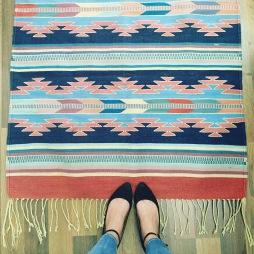 Vintage Navajo Rug $100